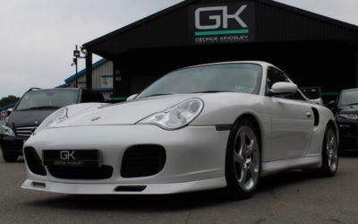 Porsche 911 996 Turbo WHITE